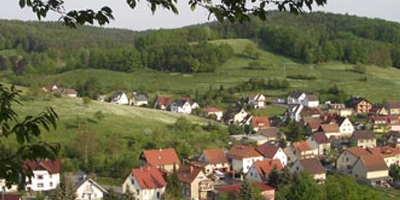 Jugendgruppe im Thüringer Wald