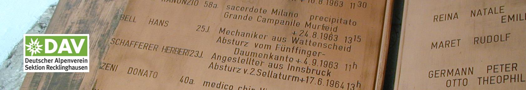 Absturzbuch Wolkenstein