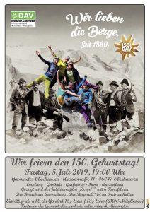 150 Jahre DAV - gefeiert in NRW @ Gasometer Oberhausen | Oberhausen | Nordrhein-Westfalen | Deutschland