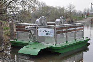 Lippefähre Baldur und Dorstens Häfen @ Entlag des Wesel-Dattel Kanal   Haltern am See   Nordrhein-Westfalen   Deutschland