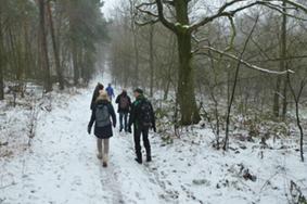 Winterwanderung durch die Haard @ Parkplatz Hohenzollern-/Mühlenstraße | Recklinghausen | Nordrhein-Westfalen | Deutschland