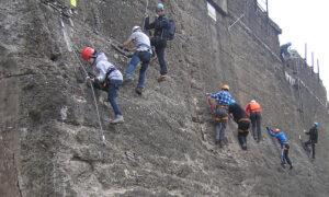 Einführung Klettersteige -LaPaDu (Abgesagt) @ Kletteranlage im Landschaftpark Duisburg Nord | Duisburg | Nordrhein-Westfalen | Deutschland